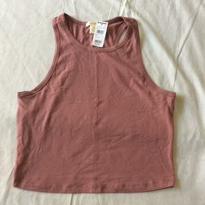 NWT Cute Tilly's Cropped Tank Top